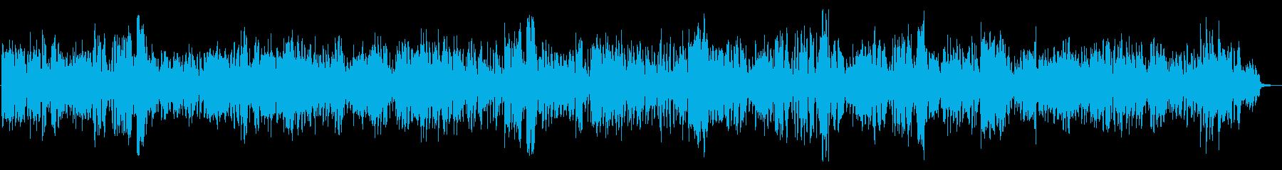 超★テンションMAXなロックBGMの再生済みの波形