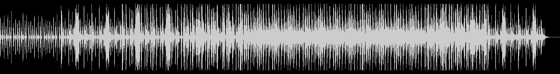 エレクトロなポップ ドリーミーな電子音楽の未再生の波形