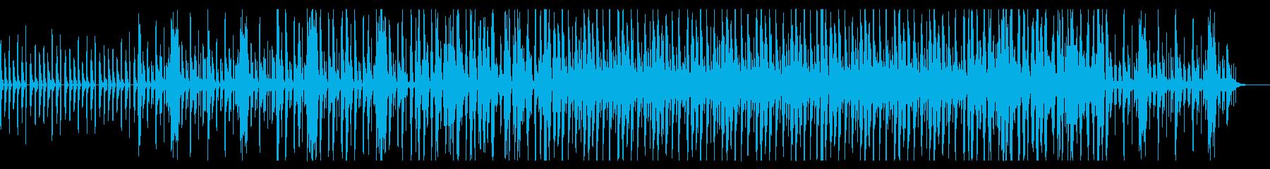 エレクトロなポップ ドリーミーな電子音楽の再生済みの波形