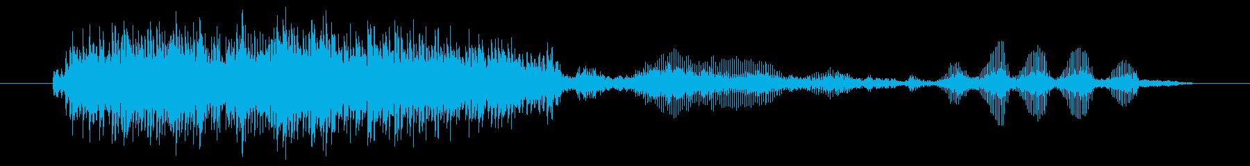 ヤギ Baaingヤギ06の再生済みの波形