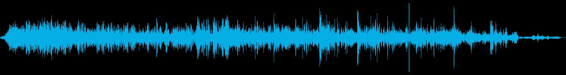 巻き戻し巻き戻し16の再生済みの波形