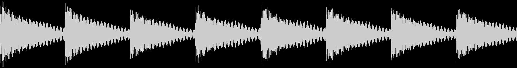 踏切・遮断機(カンカンカン)の未再生の波形