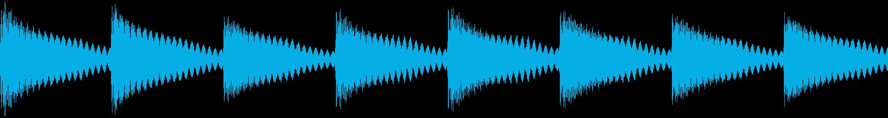 踏切・遮断機(カンカンカン)の再生済みの波形
