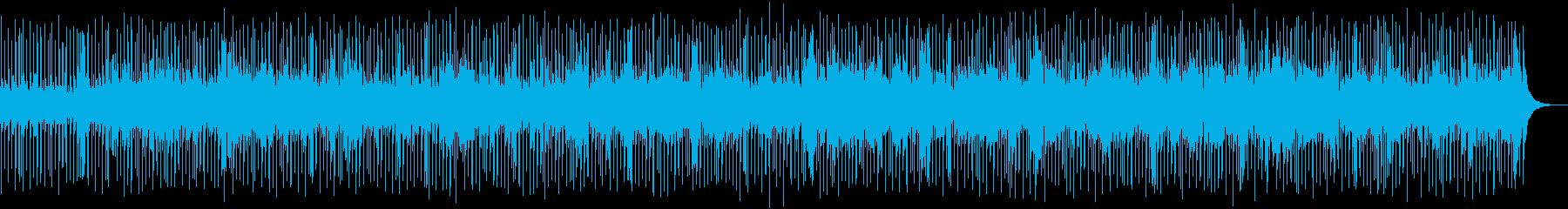 暑い夏に似合うエネルギッシュなロックの再生済みの波形