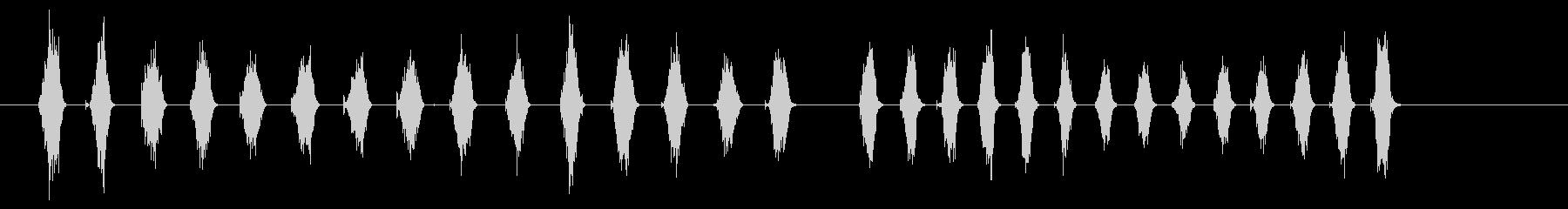金属のこぎり1の未再生の波形