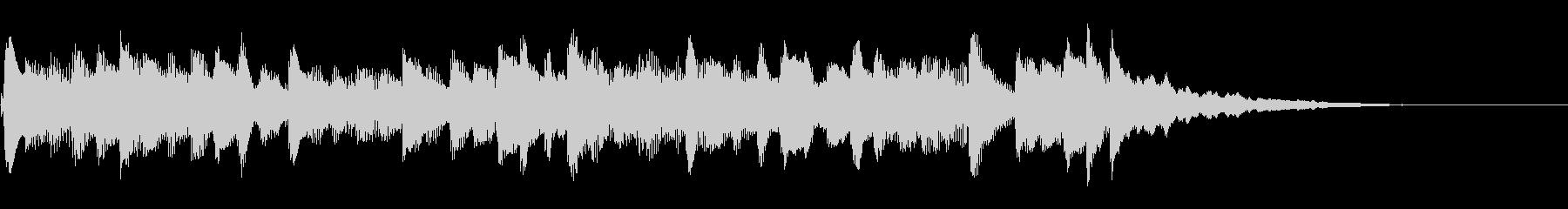 FF・ピアノニューコンテニュージングルの未再生の波形