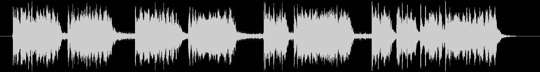 ブルズクォートとティンパニの未再生の波形