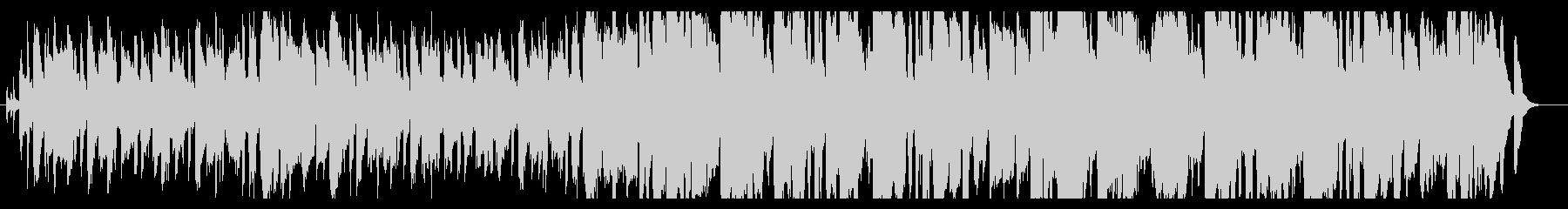 ショートムービー向けの明るいBGMの未再生の波形
