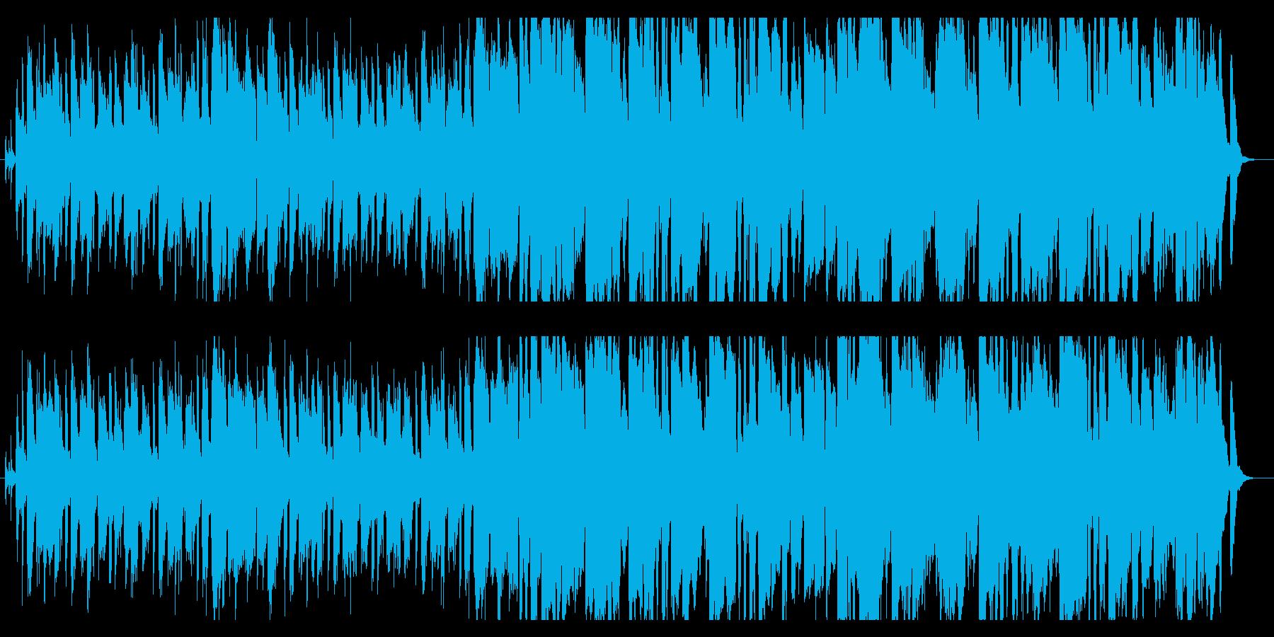 明るく軽快なディキシーランドジャスの再生済みの波形