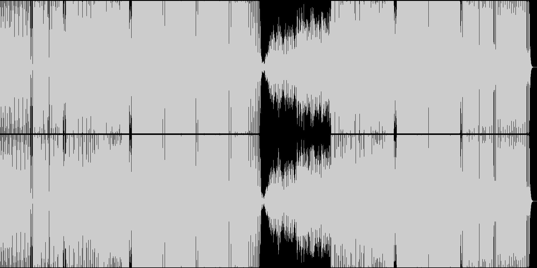 相撲ダンス(リミックス)の未再生の波形