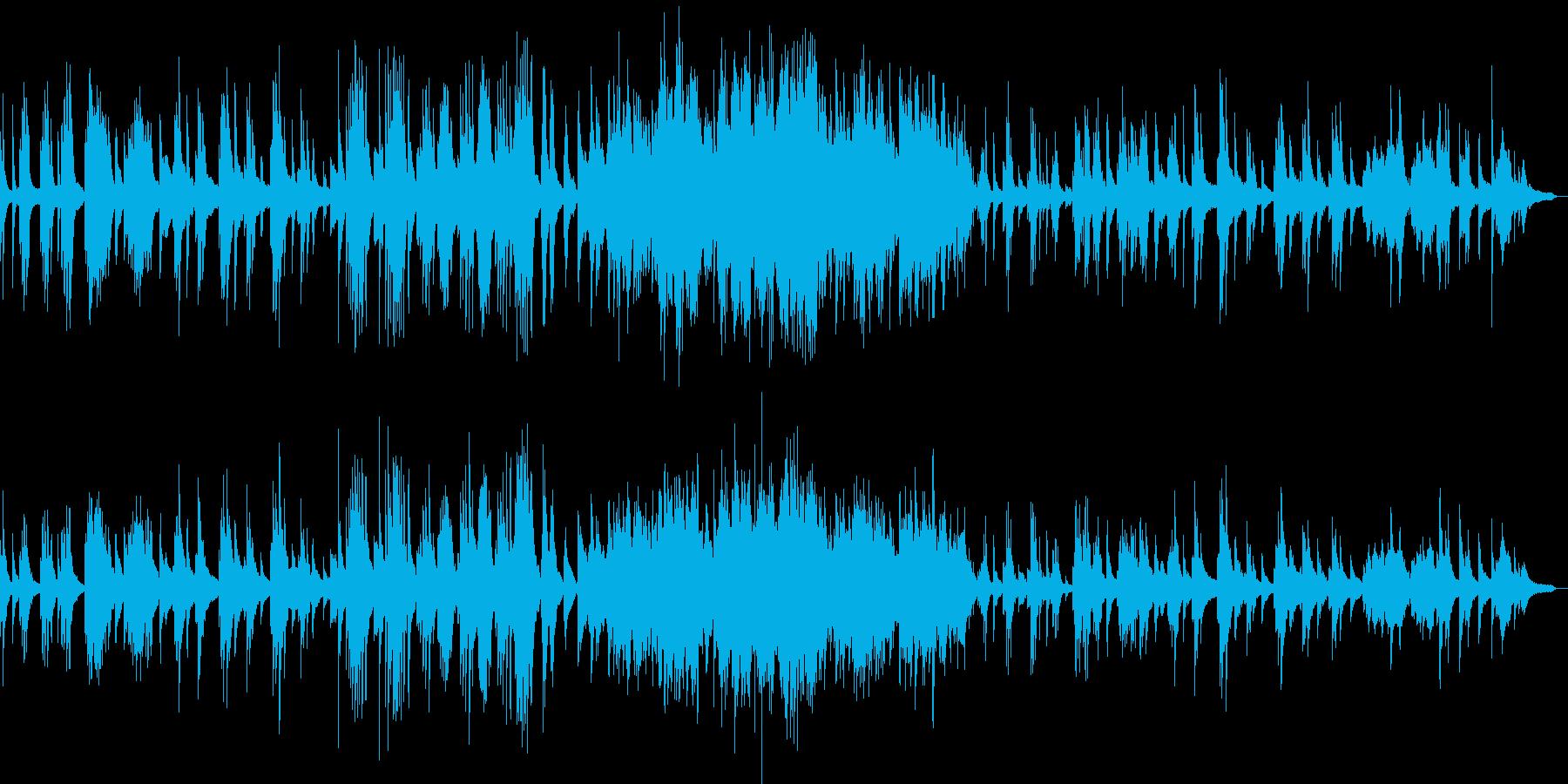 月の光 ドビュッシーのピアノ曲の再生済みの波形