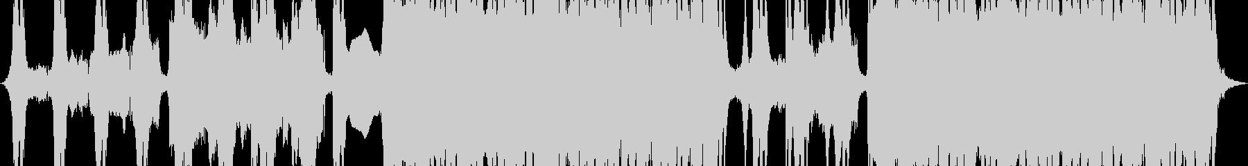 アクションブルースロックの未再生の波形
