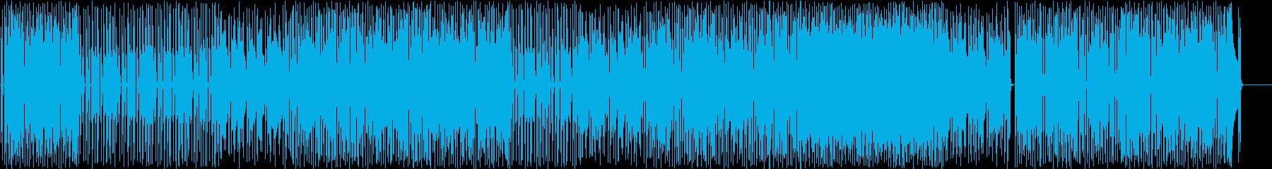 明るい、元気なインストBGMの再生済みの波形