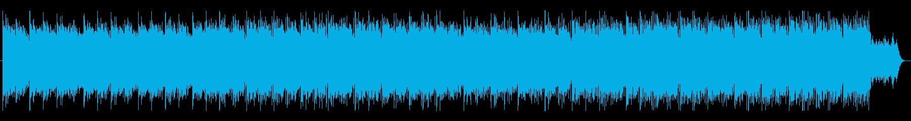 テクノロジー プレゼンテーション 温かいの再生済みの波形
