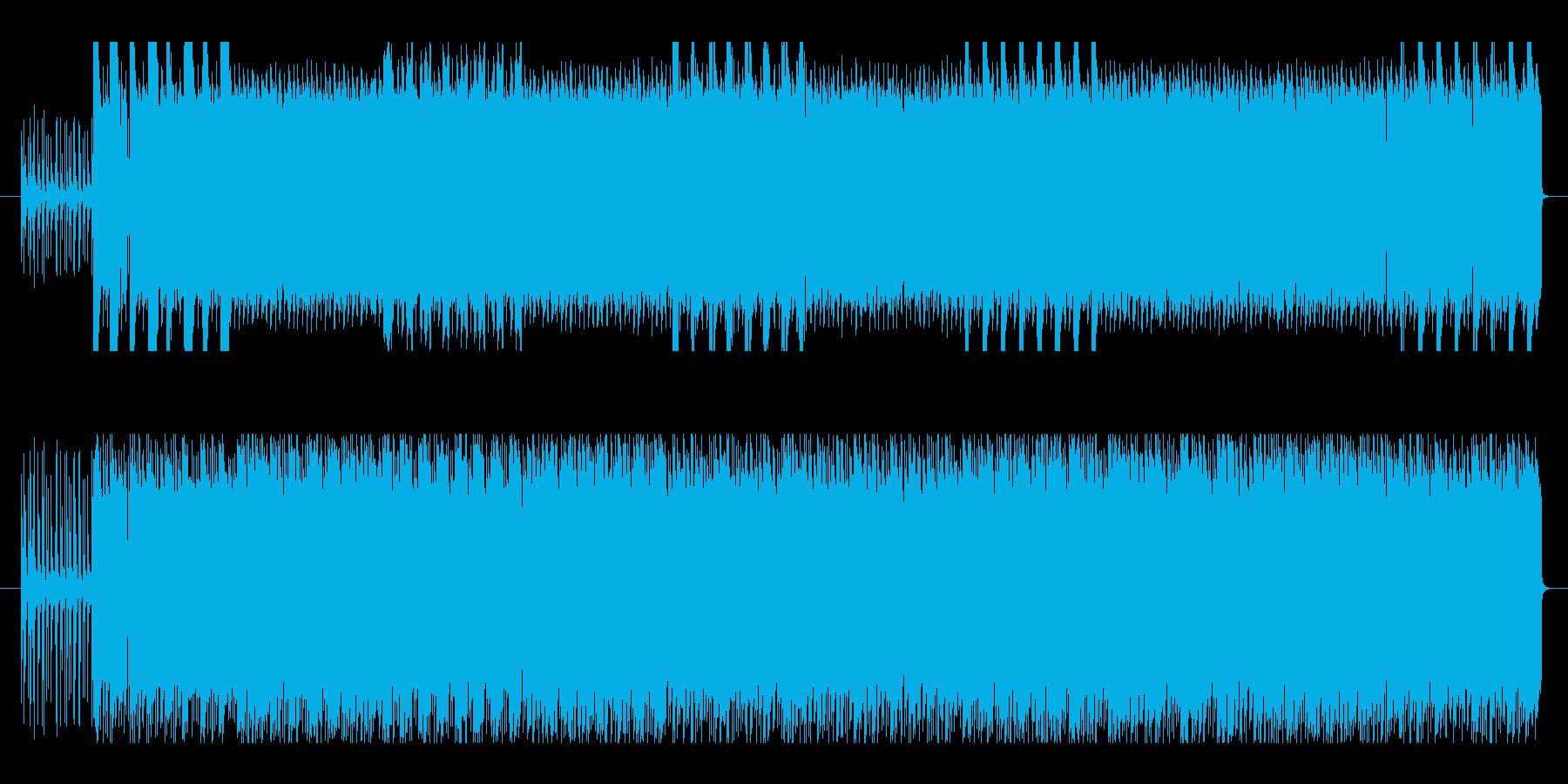 ポップな和製ラテンソングの再生済みの波形