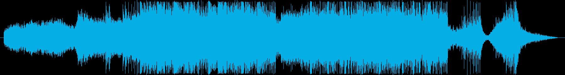 戦国和風 民族ショートトレーラー声入り版の再生済みの波形