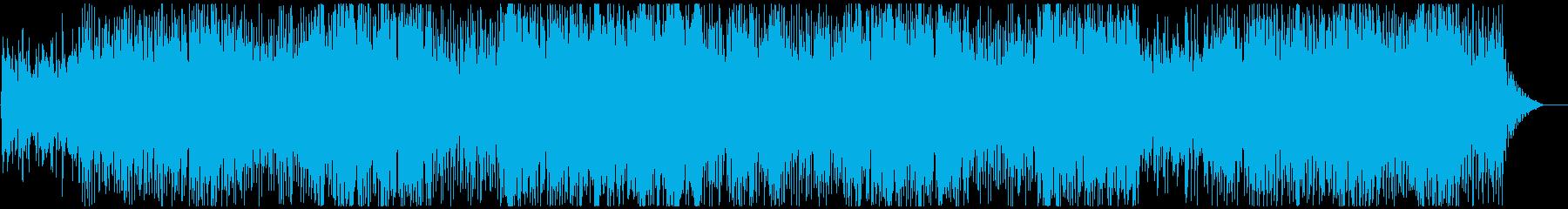 元気になれる高音ボイス軽快なポップスの再生済みの波形