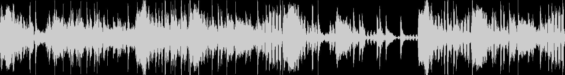 ディレイ空間音入りHIPHOPドラムの未再生の波形
