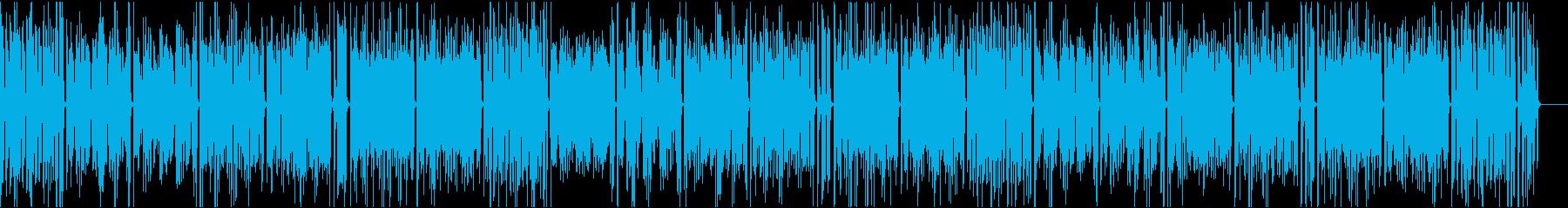 おしゃれイケイケ/静かめカラオケの再生済みの波形