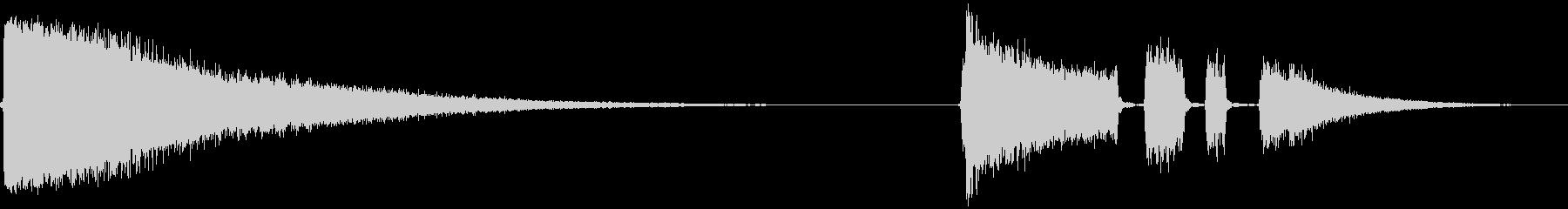 自転車用タイヤ:長時間の空気放出;...の未再生の波形