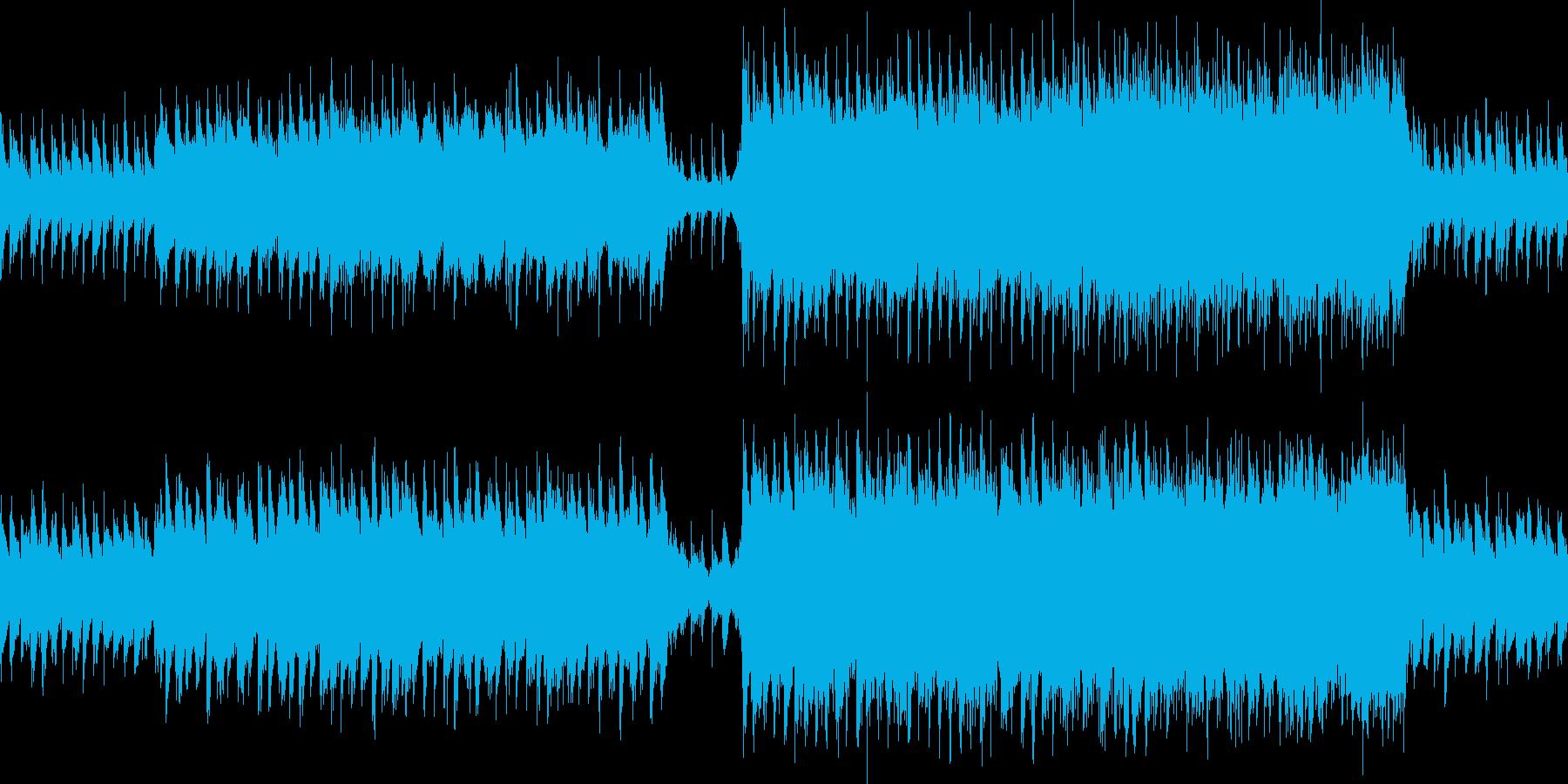 ループ 企業VPやCMにの再生済みの波形