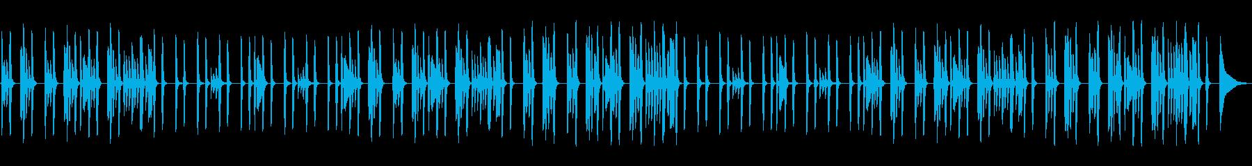 ピアノ・ほんわか・ルーティン・日常の再生済みの波形