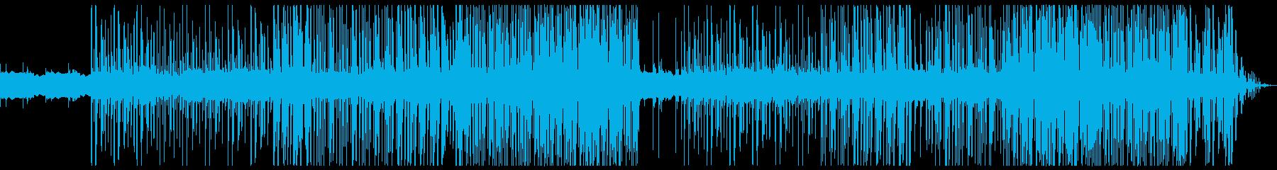 切ない ポップ トラップビートの再生済みの波形