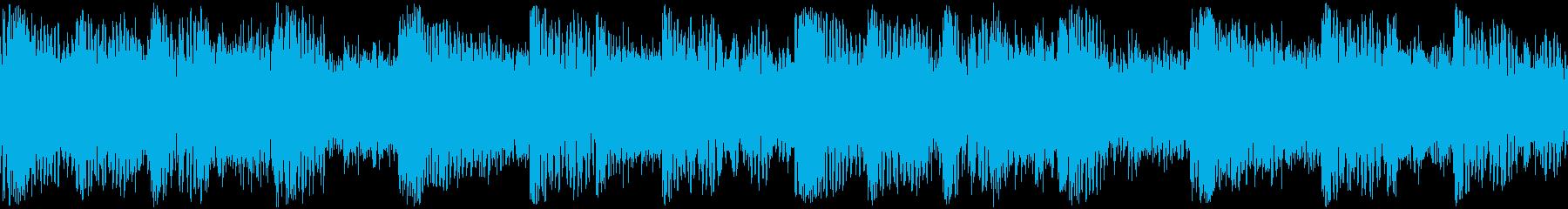 E.ギターがメインのヘビーメタルサウンドの再生済みの波形