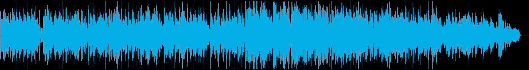 納涼ジャズボサノバ ゆらゆらリラックスの再生済みの波形