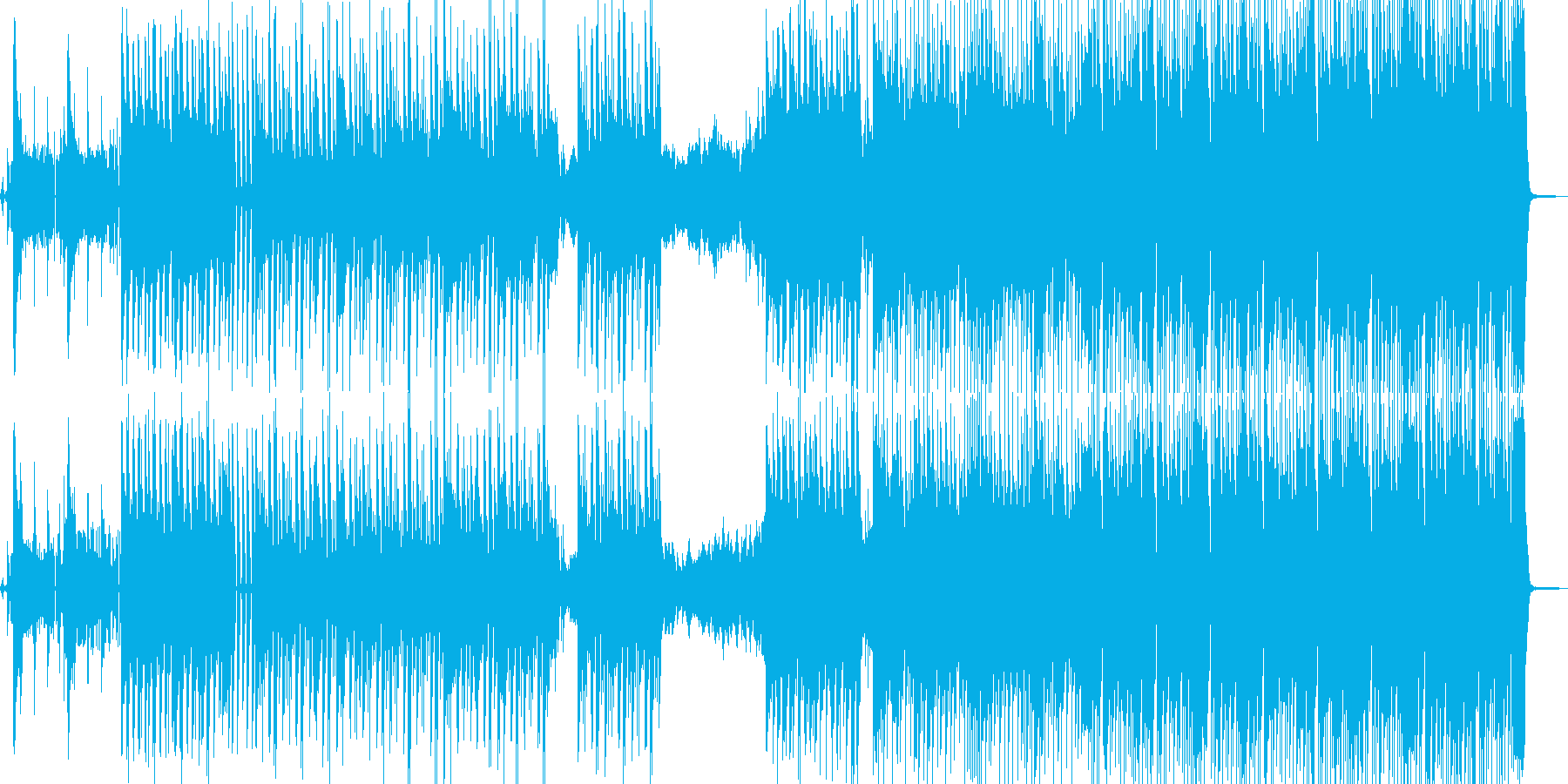 男女の口論をイメージ・ヒップホップ 短尺の再生済みの波形