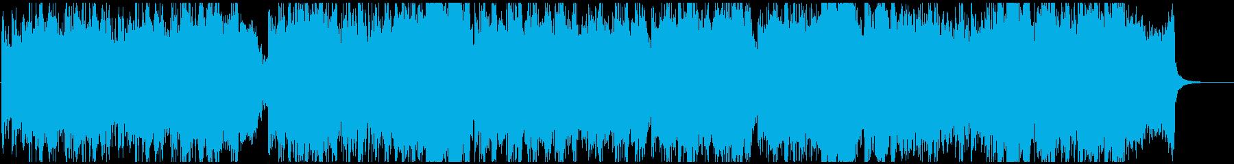 物語の始まりをイメージしたオーケストラ曲の再生済みの波形