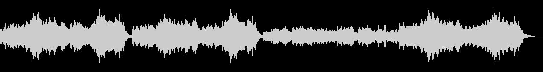 ピアノ練習曲/ブルグミュラー清らかな小川の未再生の波形
