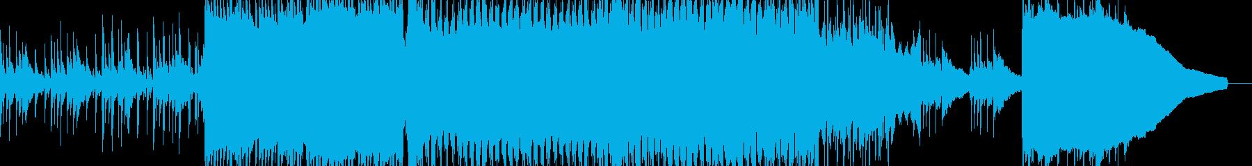 爽やかなベルのアコスティック曲ショート版の再生済みの波形