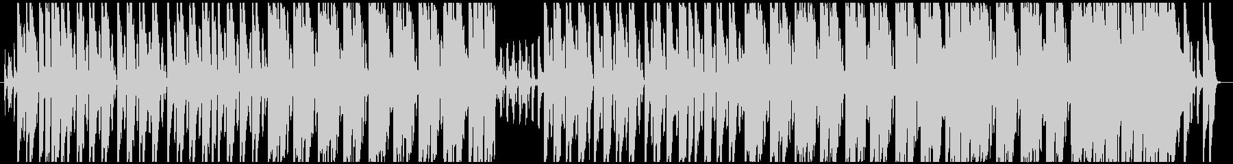 ほのぼの少しコミカルな曲。リコーダー主旋の未再生の波形