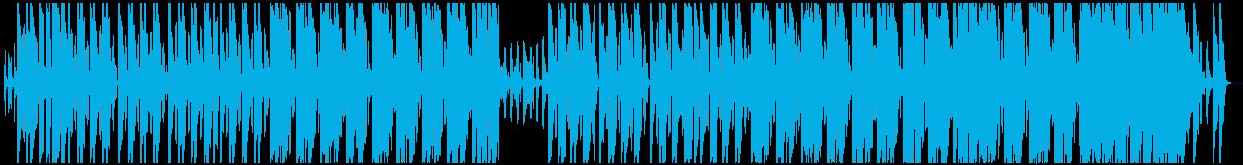 ほのぼの少しコミカルな曲。リコーダー主旋の再生済みの波形