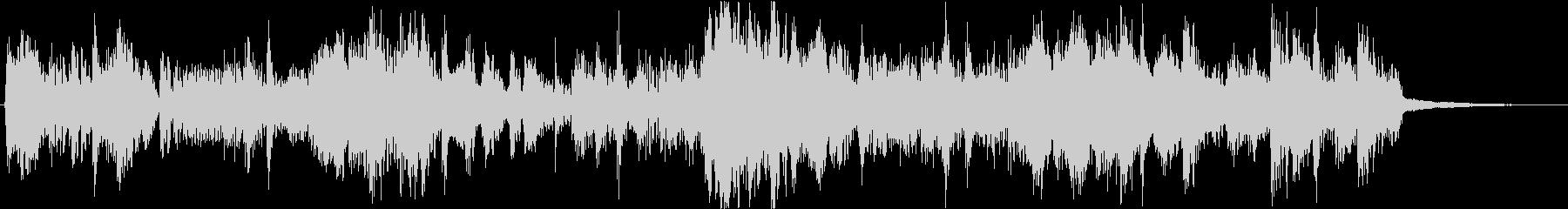フルートメインなリズミカルな11秒楽曲の未再生の波形