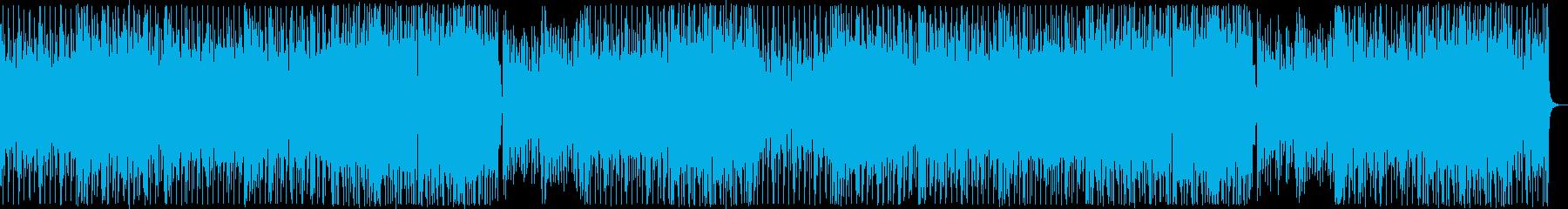 アダルトなファンク女声コーラス:フル2回の再生済みの波形
