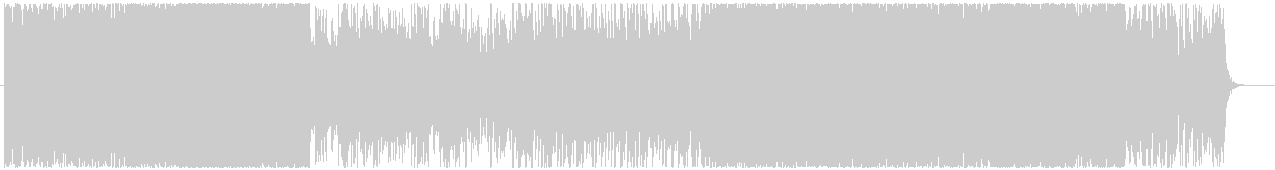 ハイスピードラスボス戦イメージ曲の未再生の波形