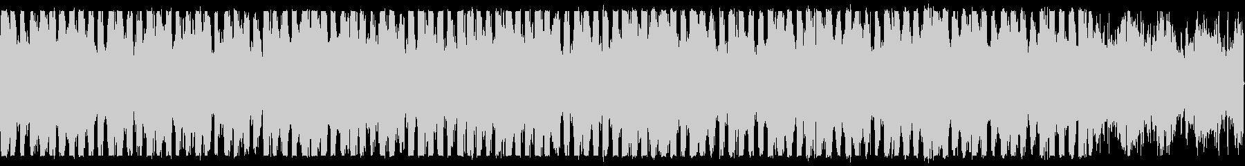 幻想的なピアノとハープのBGMループ可の未再生の波形