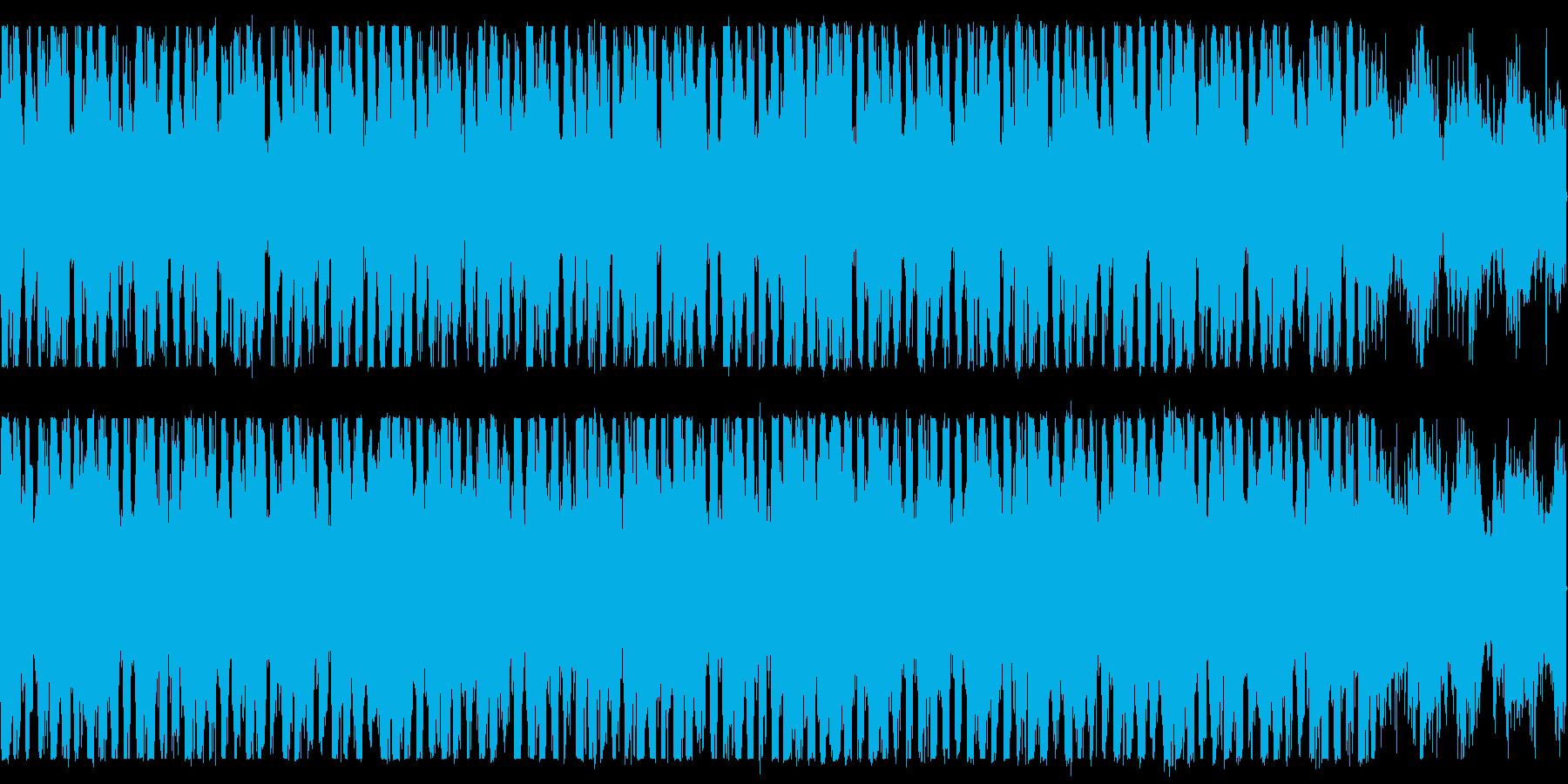 幻想的なピアノとハープのBGMループ可の再生済みの波形