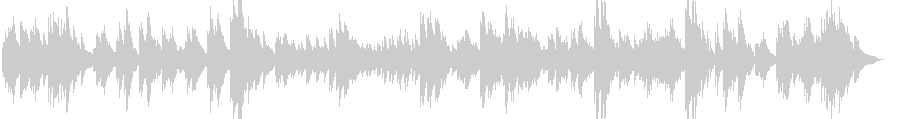 メンデルスゾーン「朝の歌」の未再生の波形
