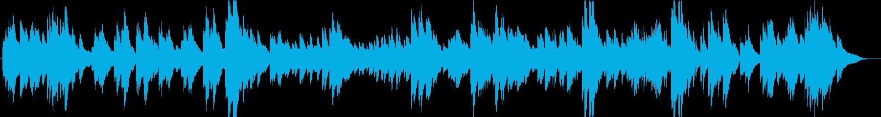 メンデルスゾーン「朝の歌」の再生済みの波形