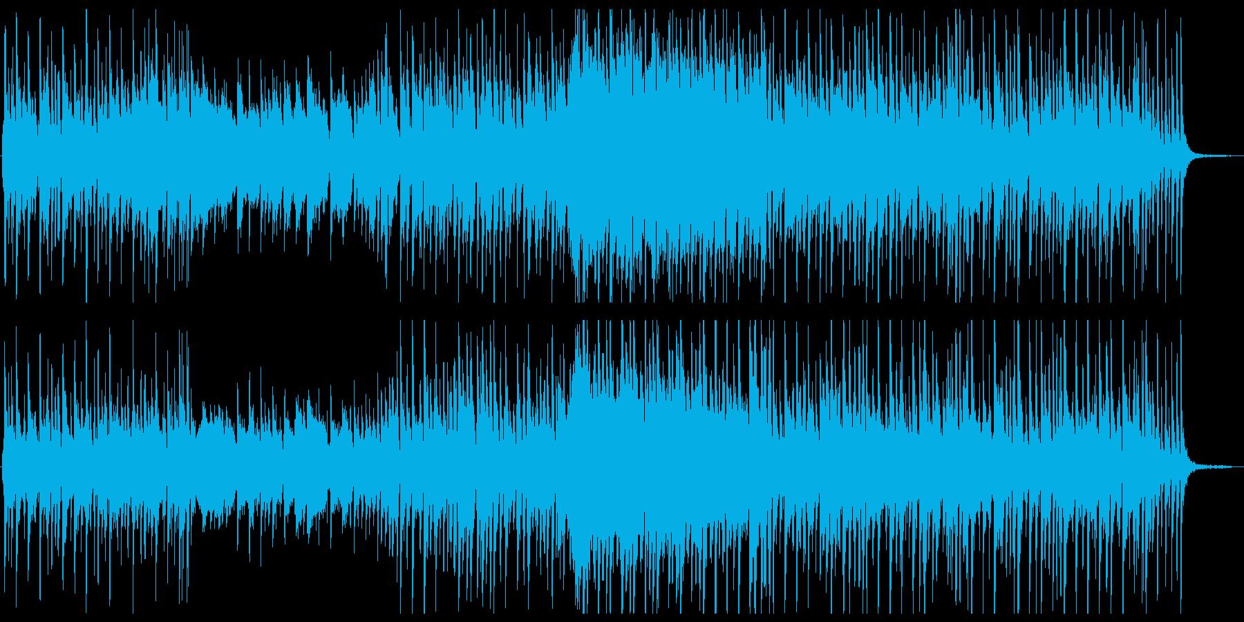 ジャジーなリズム感ある曲ですの再生済みの波形