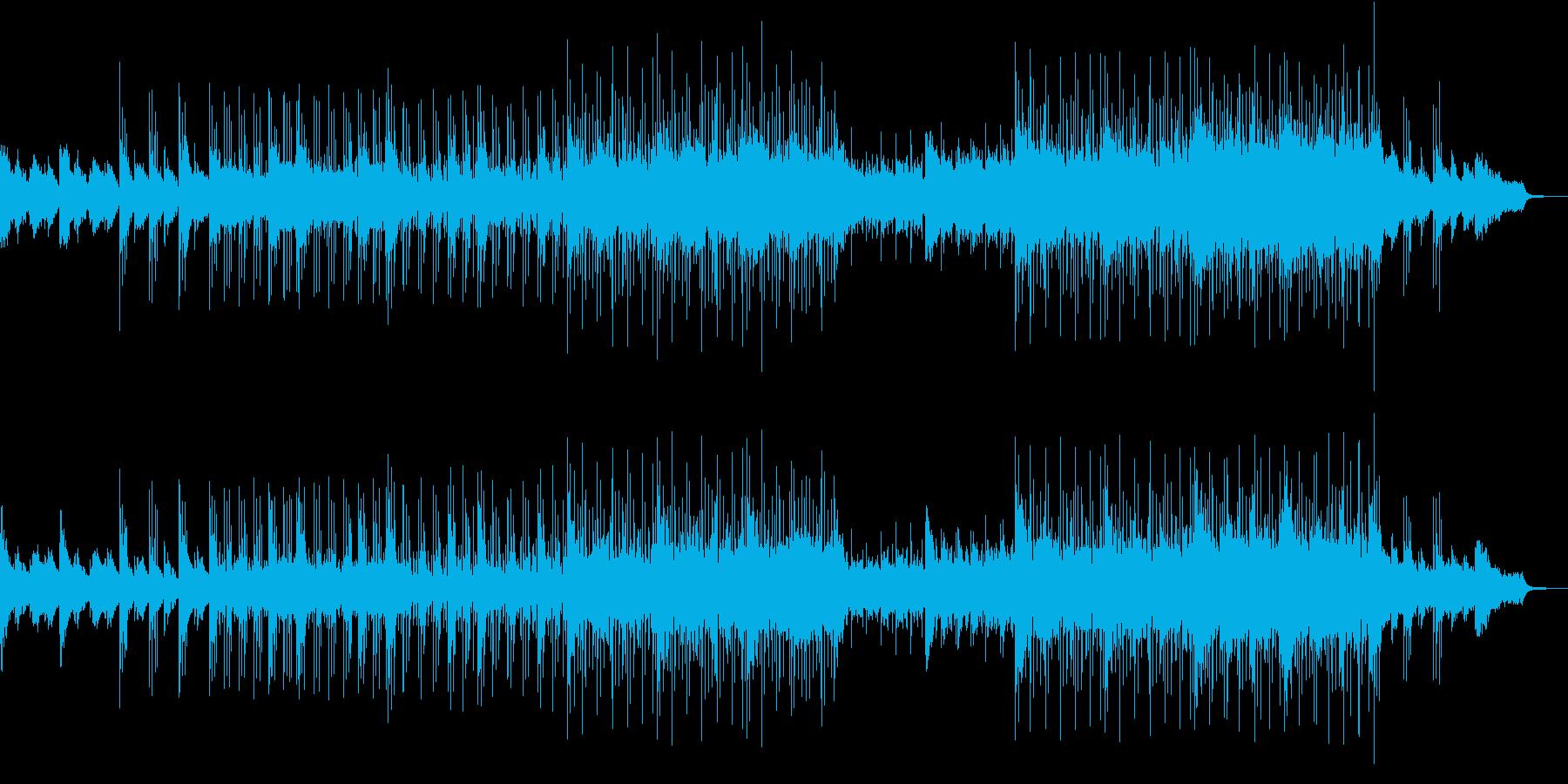 弦とピアノのアルペジオが織りなすサントラの再生済みの波形