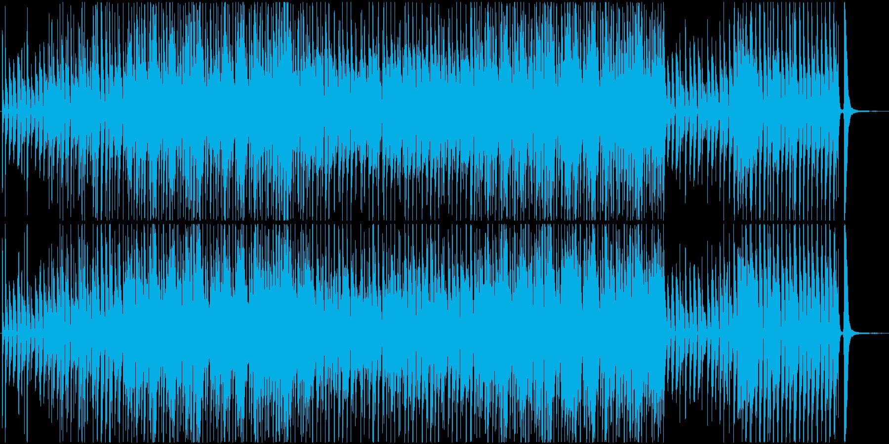 陽気で軽快なブルース TV番組BGMの再生済みの波形