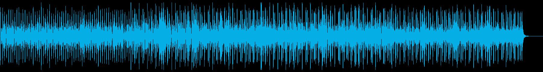 開放感のあるシンセヒップホップの再生済みの波形