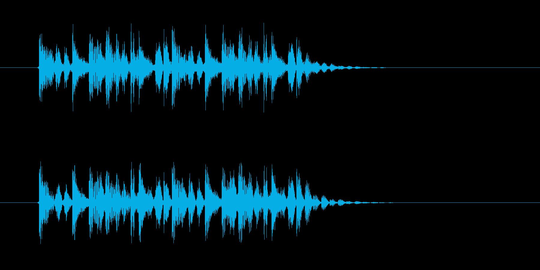 疾走感のある幻想的な音楽の再生済みの波形