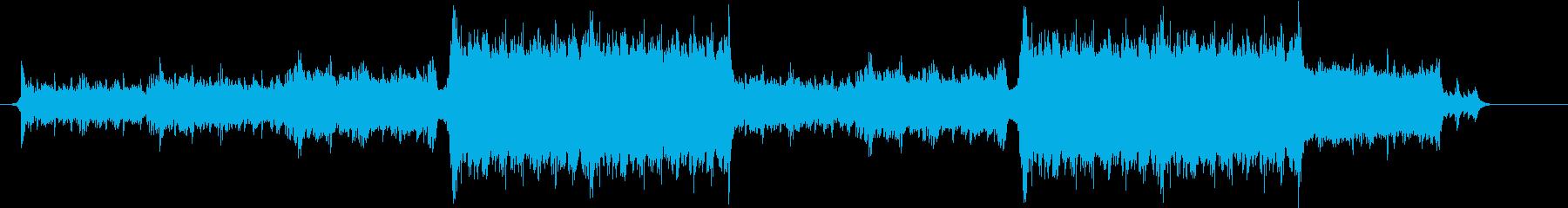 ピアノメインの明るいオーケストラ曲です。の再生済みの波形