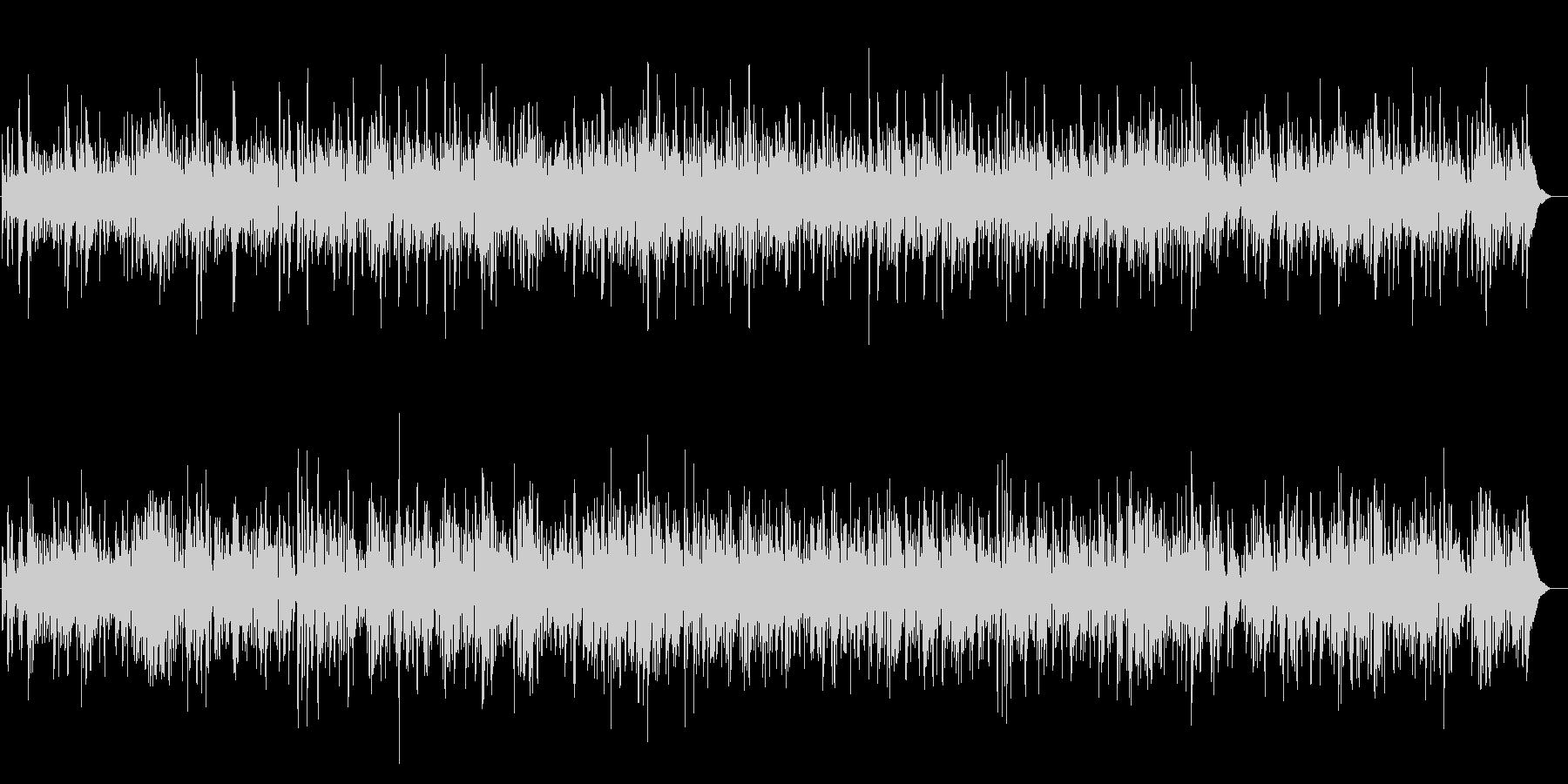 JAZZ 上品でエレガントなジャズBGMの未再生の波形