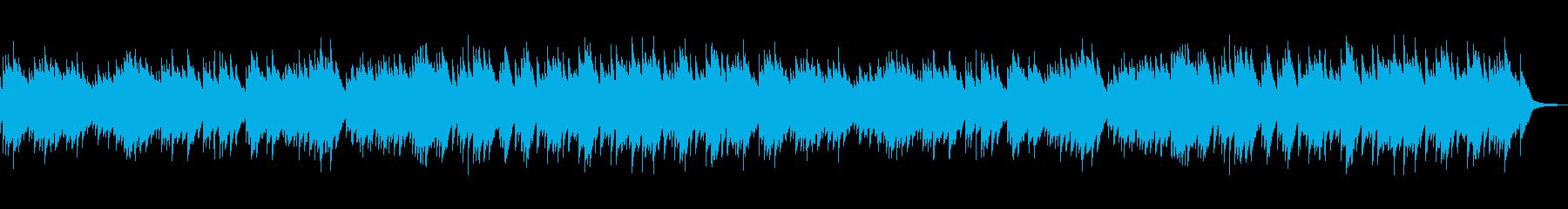 ワルツ、上品、ベル、日常、可愛いBGM2の再生済みの波形
